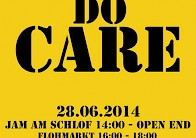 """WE DO CARE"" Jam am Schlof"