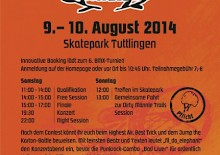 BMX MÄNNLE TURNIER AM 9. & 10. AUGUST 2014